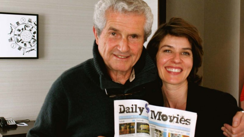 Salaud, on t'aime: Claude Lelouch et Irène Jacob