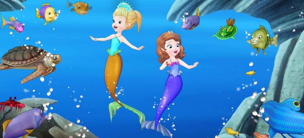 Princesse Sofia au royaume des sirènes - DVD