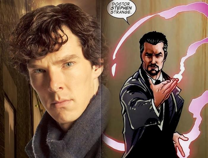 Benedict Cumberbatch en Doctor Strange ?