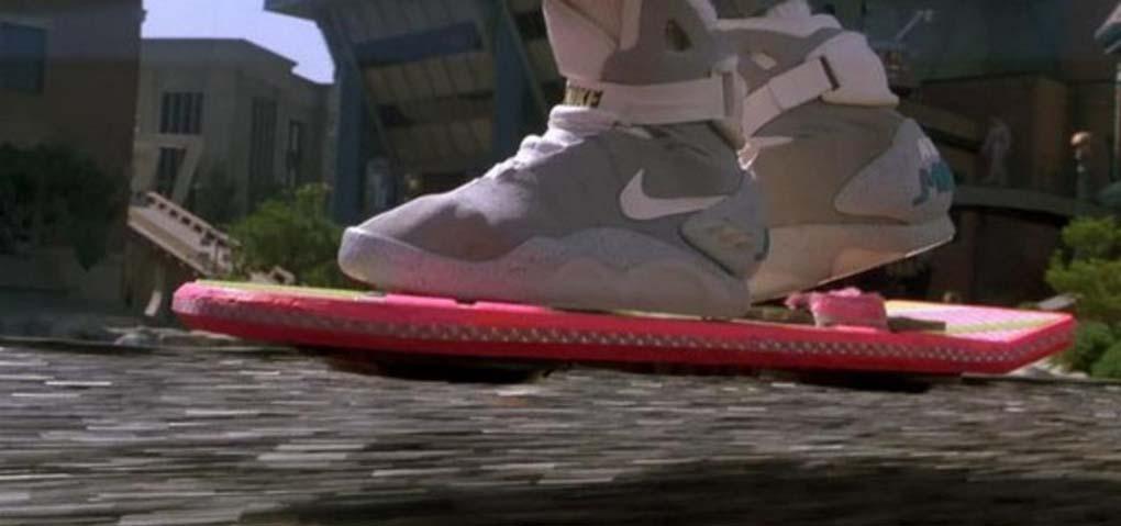 Hoverboard : Le skate volant de «Retour vers le futur»