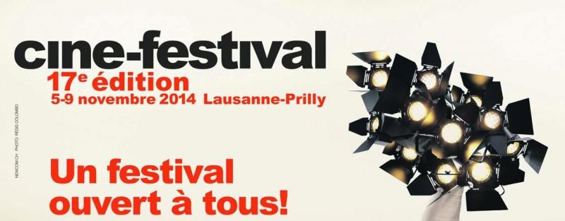 Ciné-Festival 17e Edition à Cinétoile, Prilly