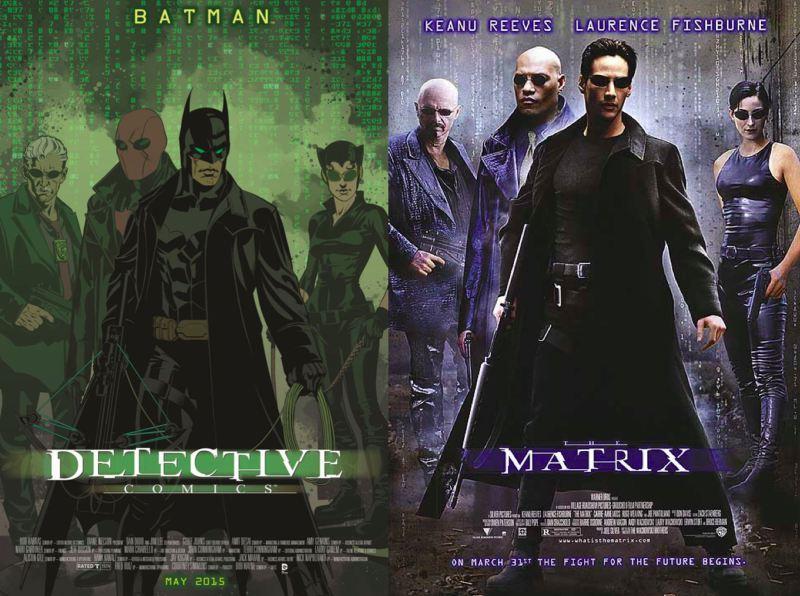 DETECTIVE COMICS #40 - THE MATRIX, couverture par Brian Stelfreeze DetectiveComics