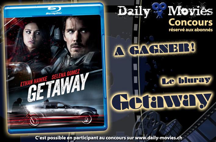 Gagnez un exemplaire du film «Getaway» en Bluray