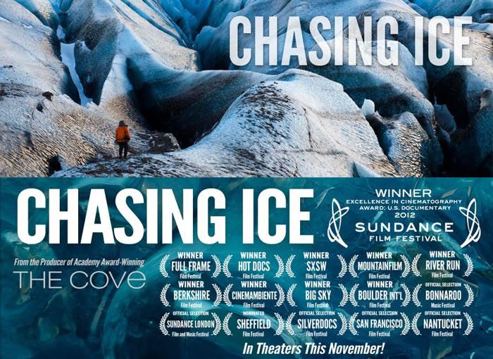 Chasing Ice » (Jeff Orlowski, USA 2012)Chasing Ice » (Jeff Orlowski, USA 2012)