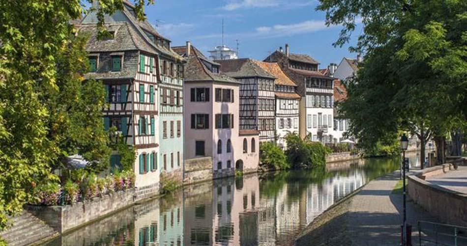 Strasbourg  Visite de son vieux quartier