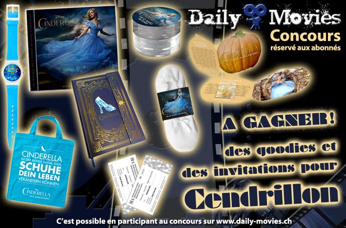 Gagnez des invitations et des goodies du film «Cendrillon»