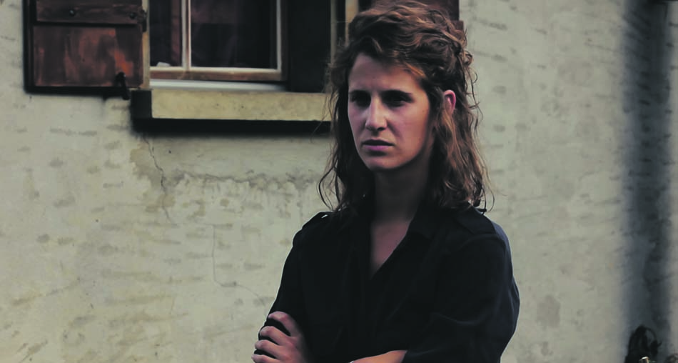 Jenna Hasse, comédienne et réalisatrice du court-métrage « En Août »