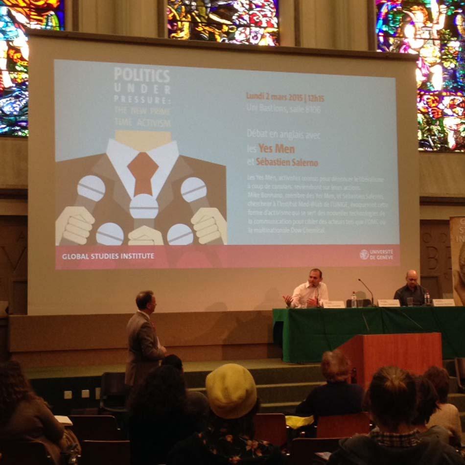 Mike Bonanno des yen men et Sébastien Salerno - Conférence sur The New Prime Activism