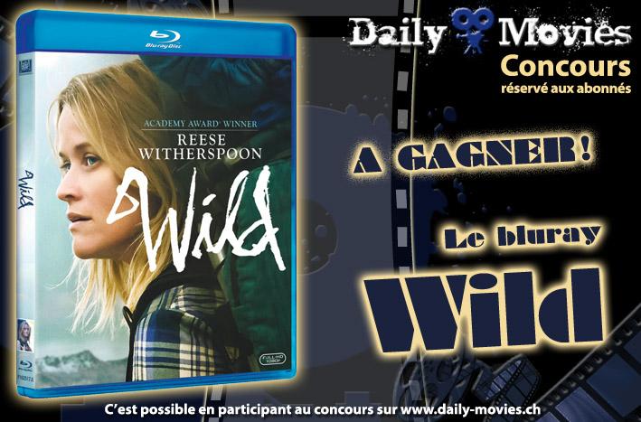 Gagnez un exemplaire du film Wild en bluray