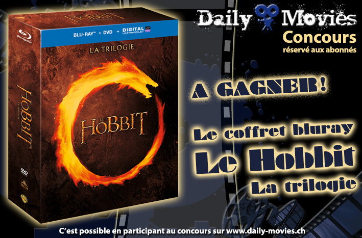 Gagnez le coffret Bluray de la trilogie «The Hobbit»