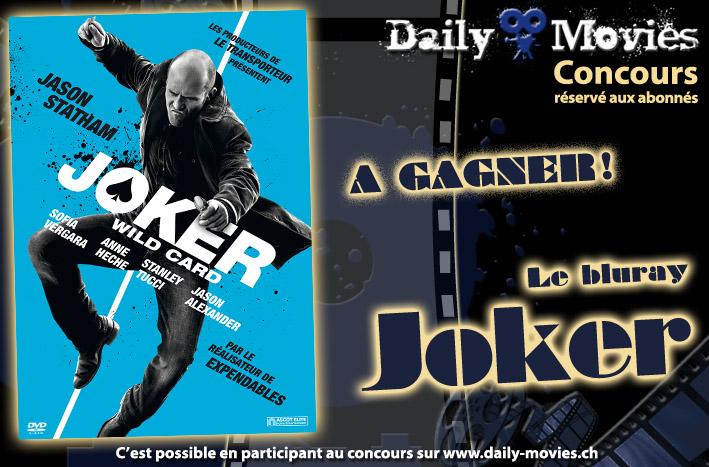 Gagnez un exemplaire du film «Joker» en Bluray
