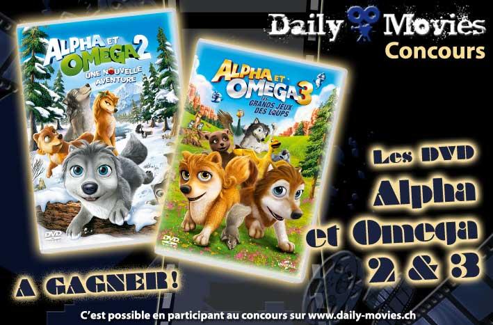 Concours : Les DVD Alpha et Omega 2 & 3