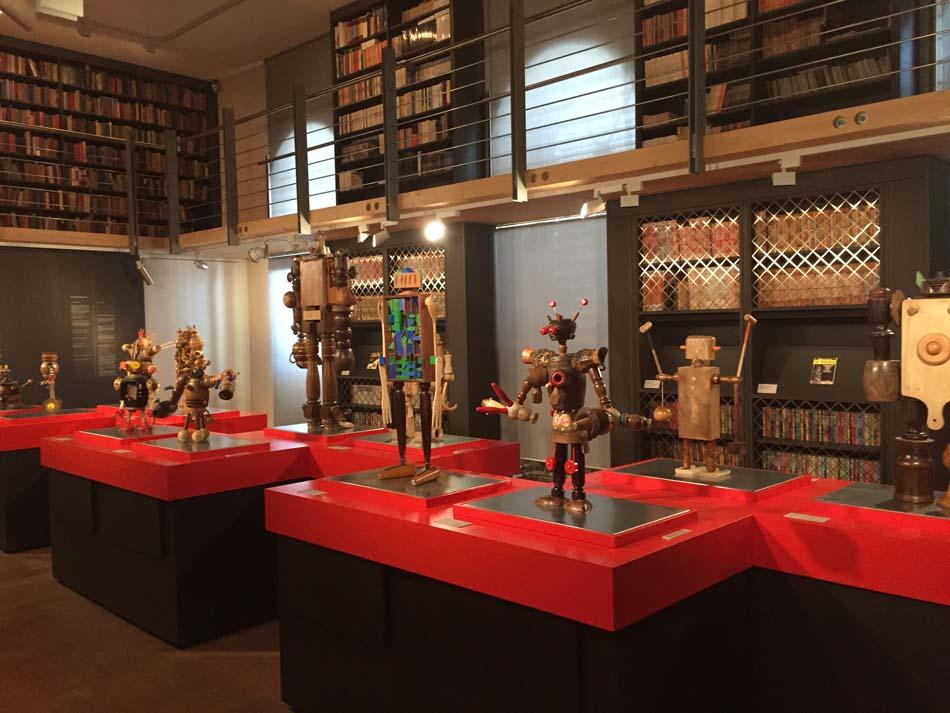 I-Robot – L'Univers Fantastique des Robots à la Maison d'Ailleurs - Espace Jules Verne