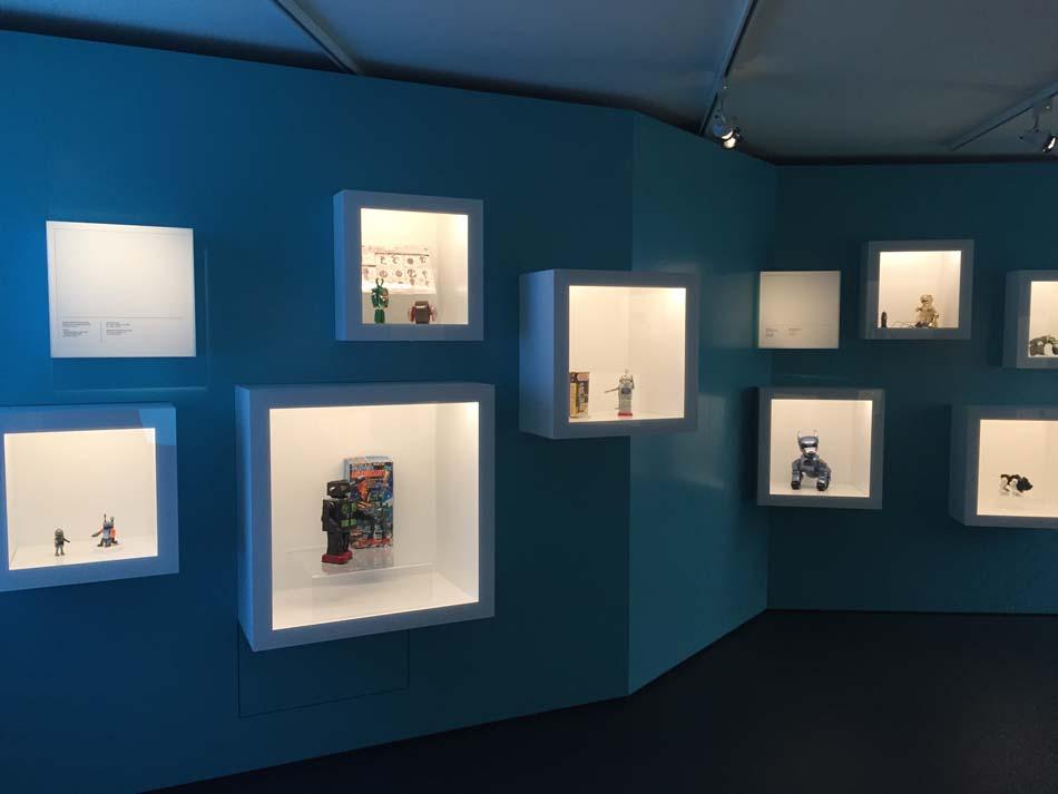 I-Robot – L'Univers Fantastique des Robots à la Maison d'Ailleurs - Le coin « Portrait »