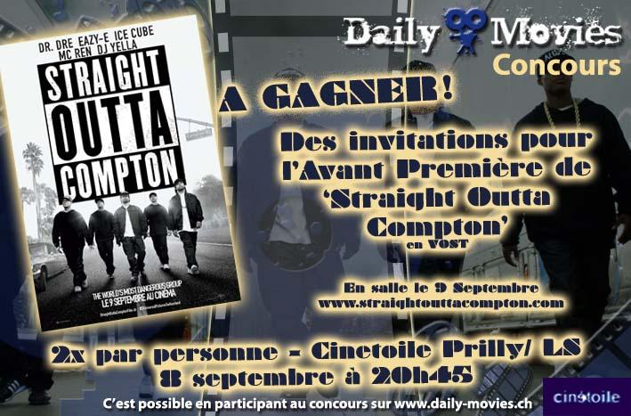 Avant Première: N.W.A – Straight Outta Compton au Cinetoile de Prilly