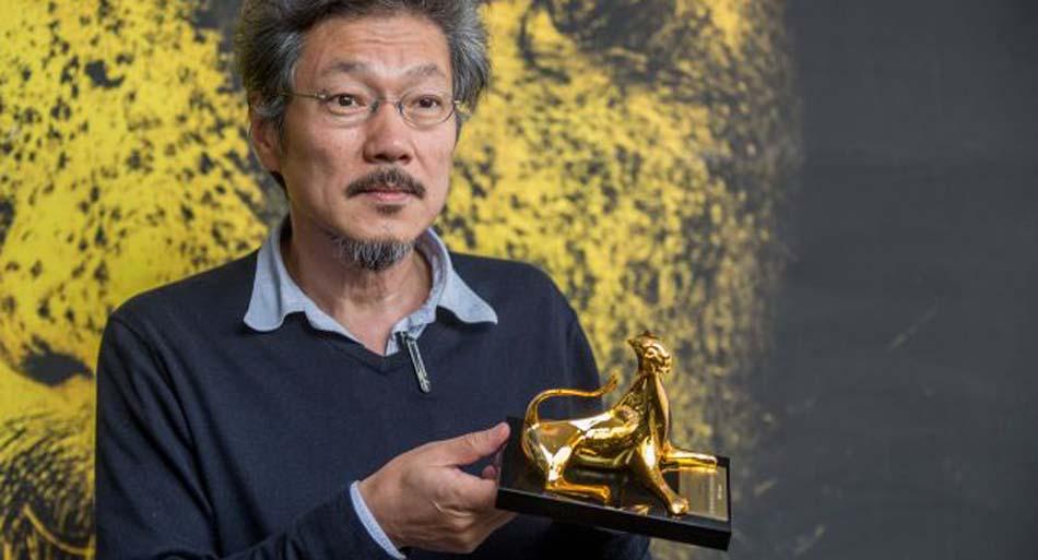 HONG Sangsoo, Pardo d'oro 2015 © Festival del film Locarno