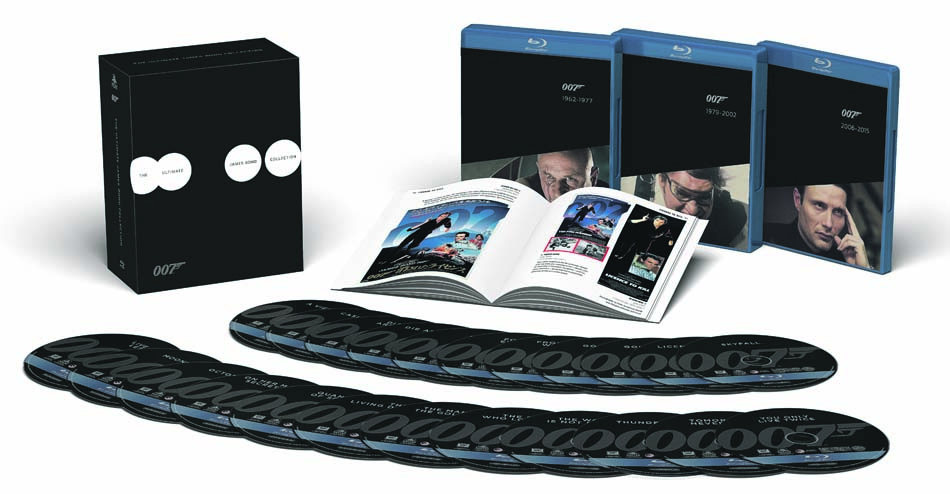 Coffret Intégrale James Bond Collector