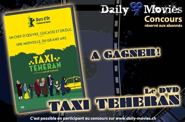 Concours : Gagnez un exemplaire du film «Taxi Téhéran» en DVD