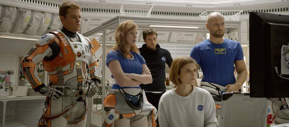 Seul sur Mars de Ridley Scott