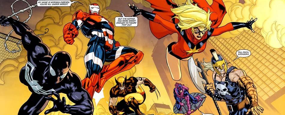 Marvel Deluxe: Dark Avengers 1