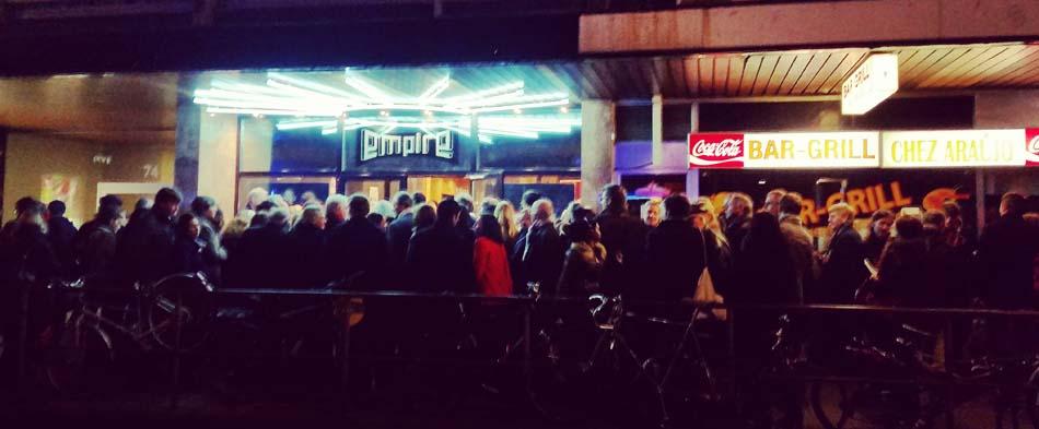 Cinérama Empire 2015 - Ouverture Public