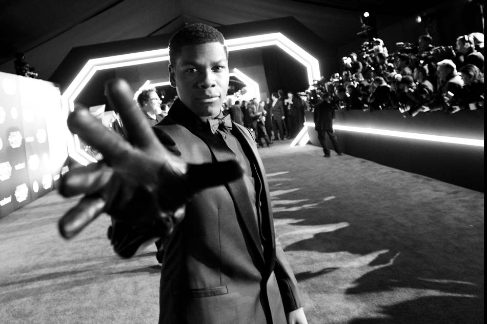 "Premiere de ""Star Wars: The Force Awakens"" - Los Angeles - John Boyega (c) Disney"