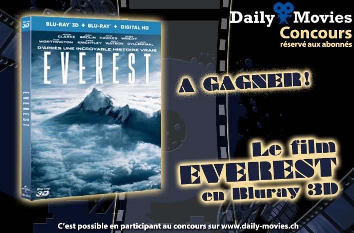 Concours: Gagnez un exemplaire du film «Everest» en Bluray 3D