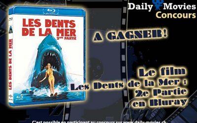 Concours : Les Dents de la Mer, 2ème partie en Bluray