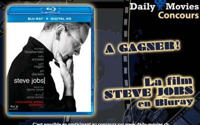 Concours : Steve Jobs en Bluray