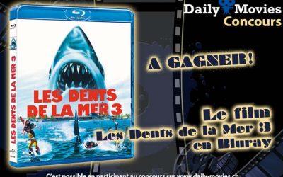 Concours : Les Dents de la Mer 3 en Bluray