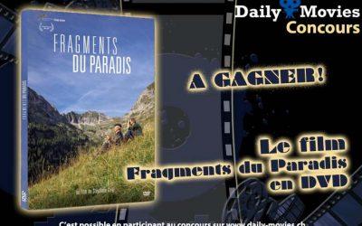 Concours : Fragments du Paradis en DVD