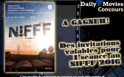 Concours : NIFFF 2016