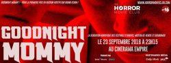 Goodnight Mommy de Severin Fiala le 23 septembre 2016 @ Cinérama Empire | Genève | Genève | Suisse
