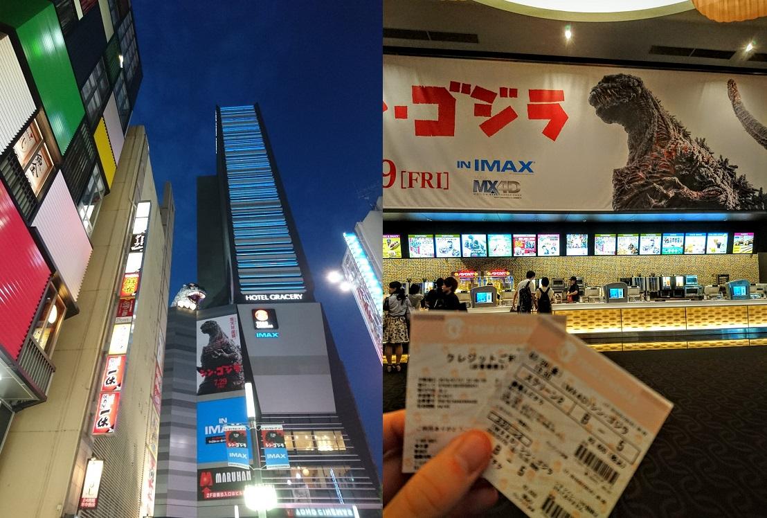 L'Hotel Gracery Shinjuku et le Toho Cinemas de Shinjuku