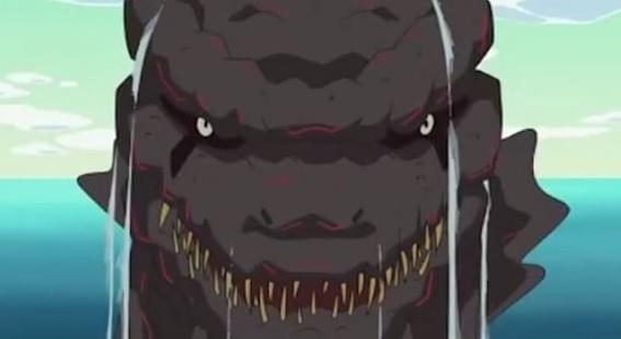 Godzilla dans l'épisode spécial de « Crayon Shin-chan » - juillet 2016