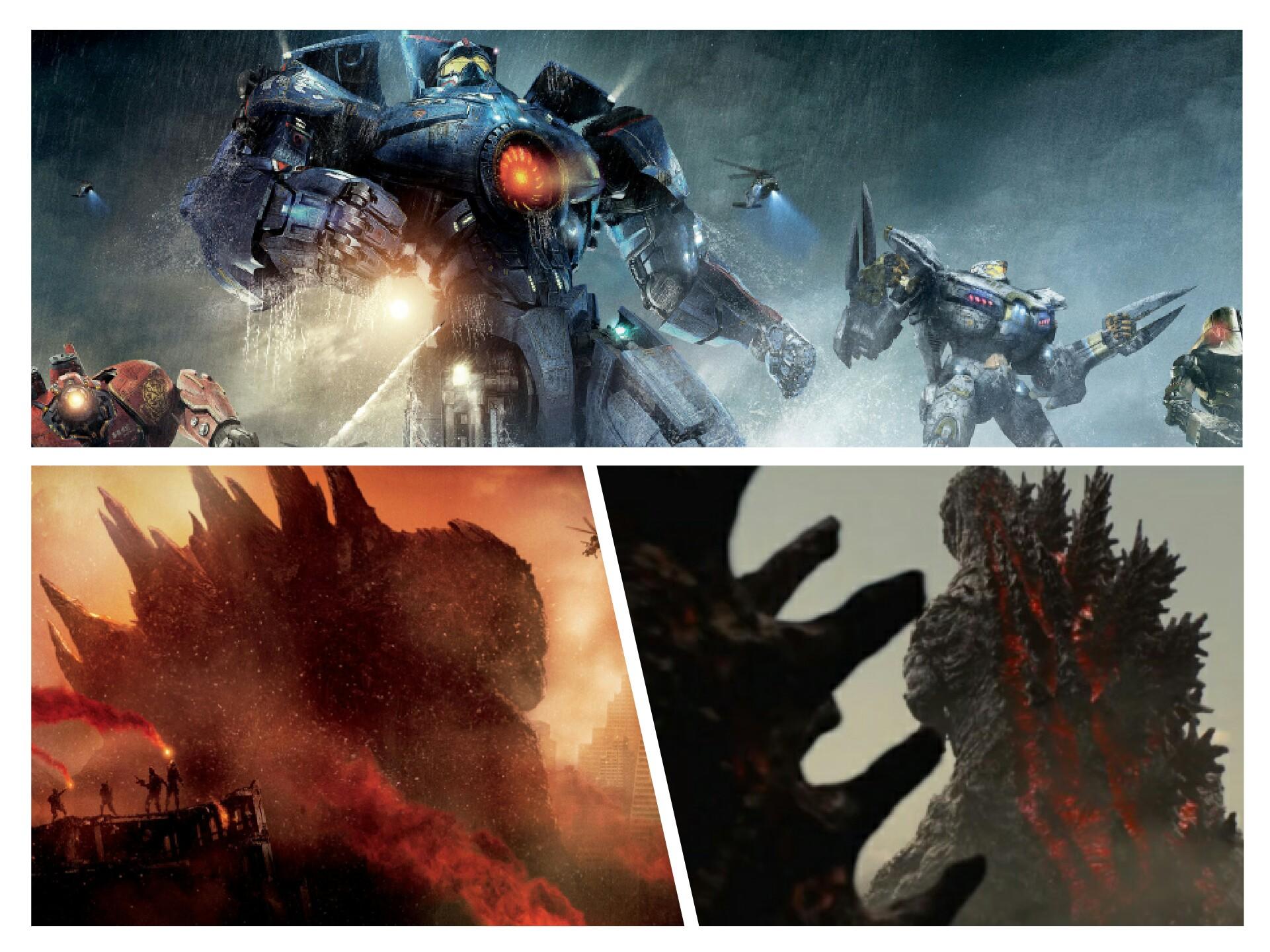 Pacific Rim, le Godzilla américain de 2014 et Shin Gojira
