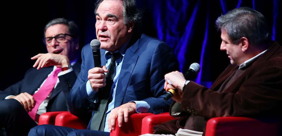 Oliver Stone au Festival du Film de Rome