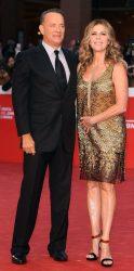 Tom Hanks et Rita Wilson au Festival du Film de Rome