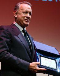 Tom Hanks honoré au Festival du Film de Rome