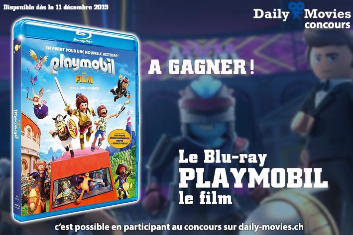 Concours Gagnez Un Exemplaire Du Film Playmobil En Blu Ray Daily Movies