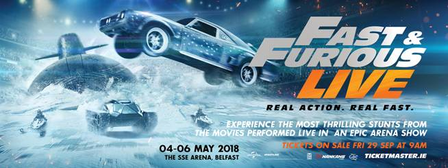 fast furious live 18 20 mai 2018 z rich hallenstadion daily movies. Black Bedroom Furniture Sets. Home Design Ideas